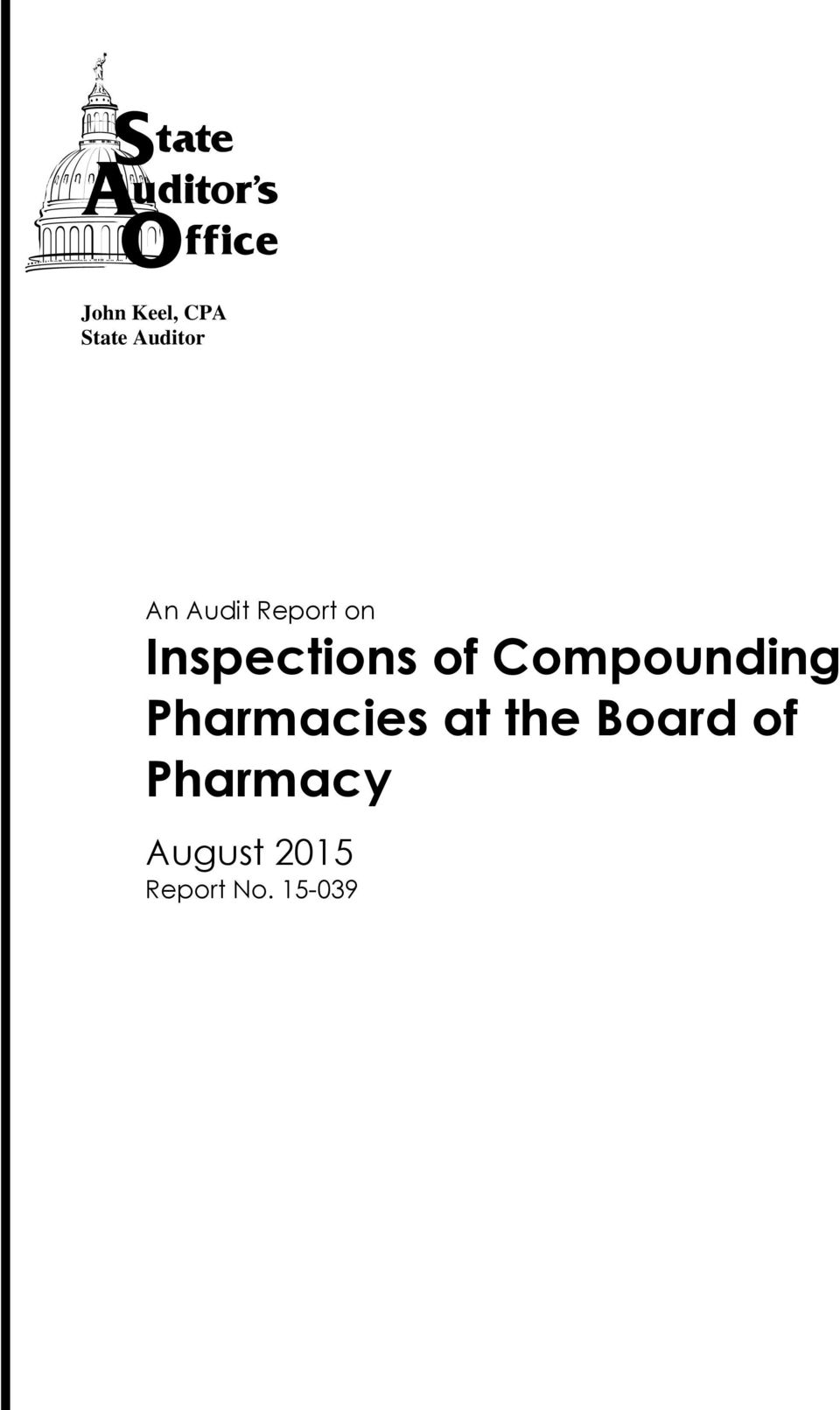 Compounding Pharmacies at the