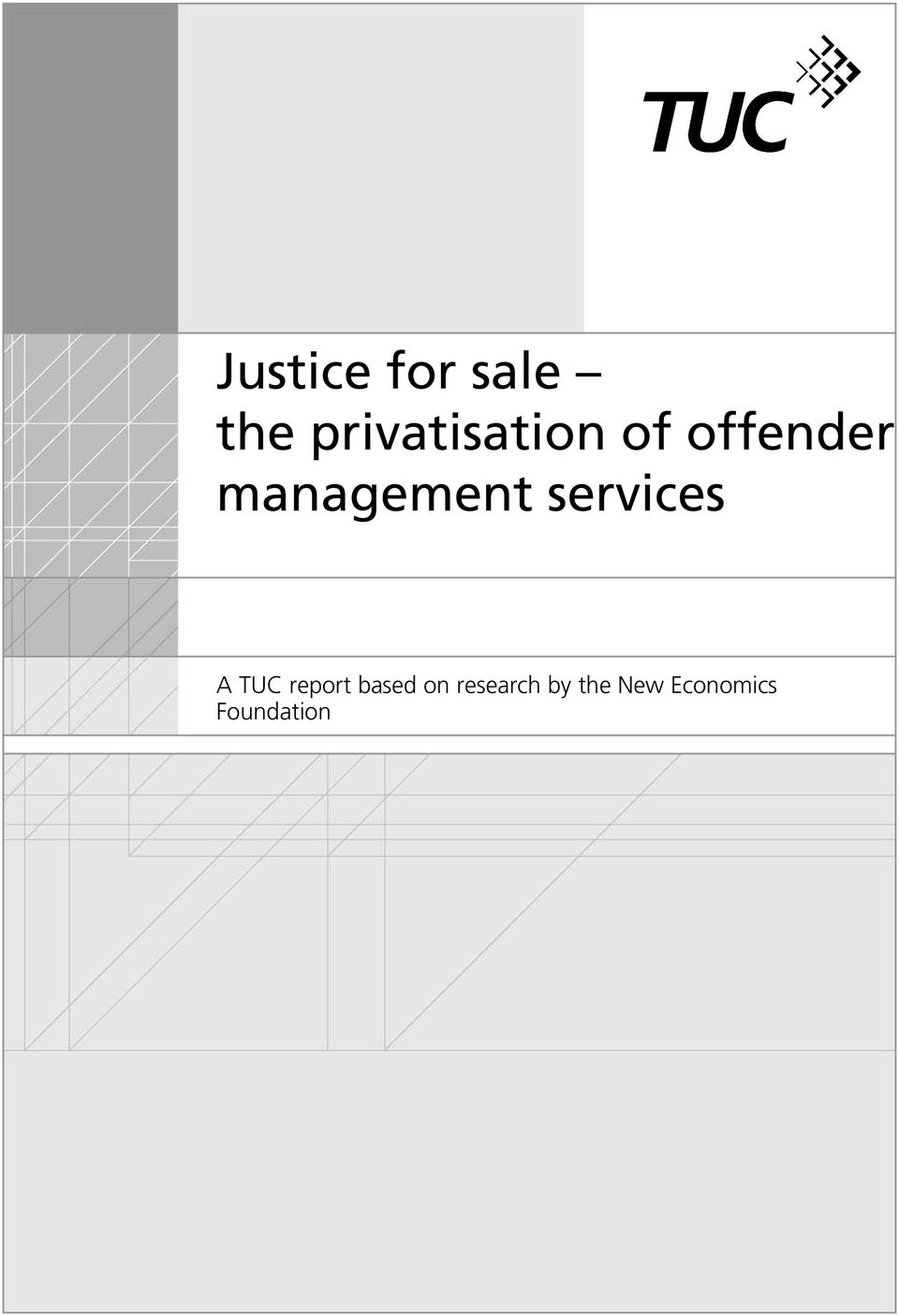management services A TUC report