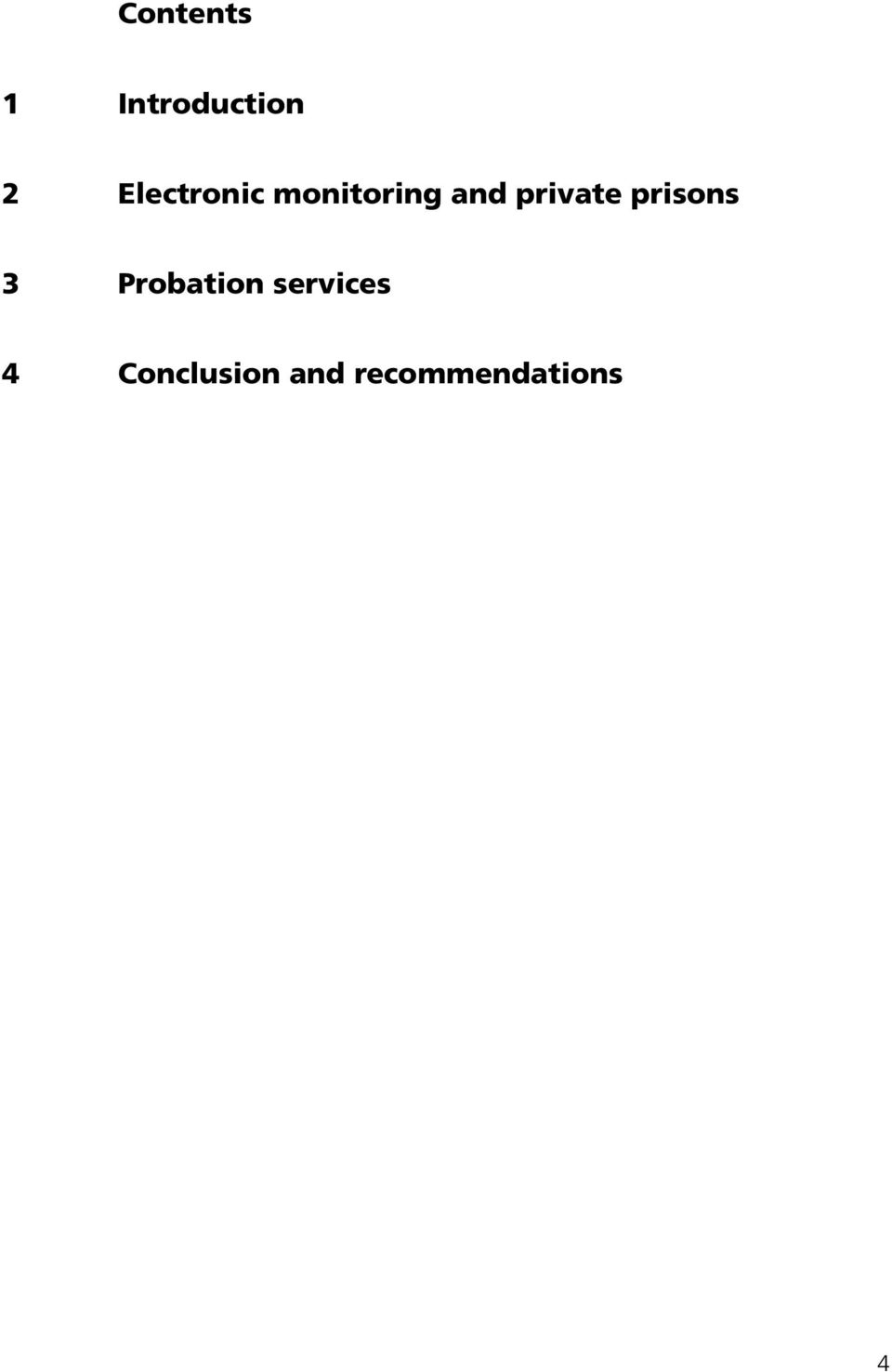 private prisons 3 Probation