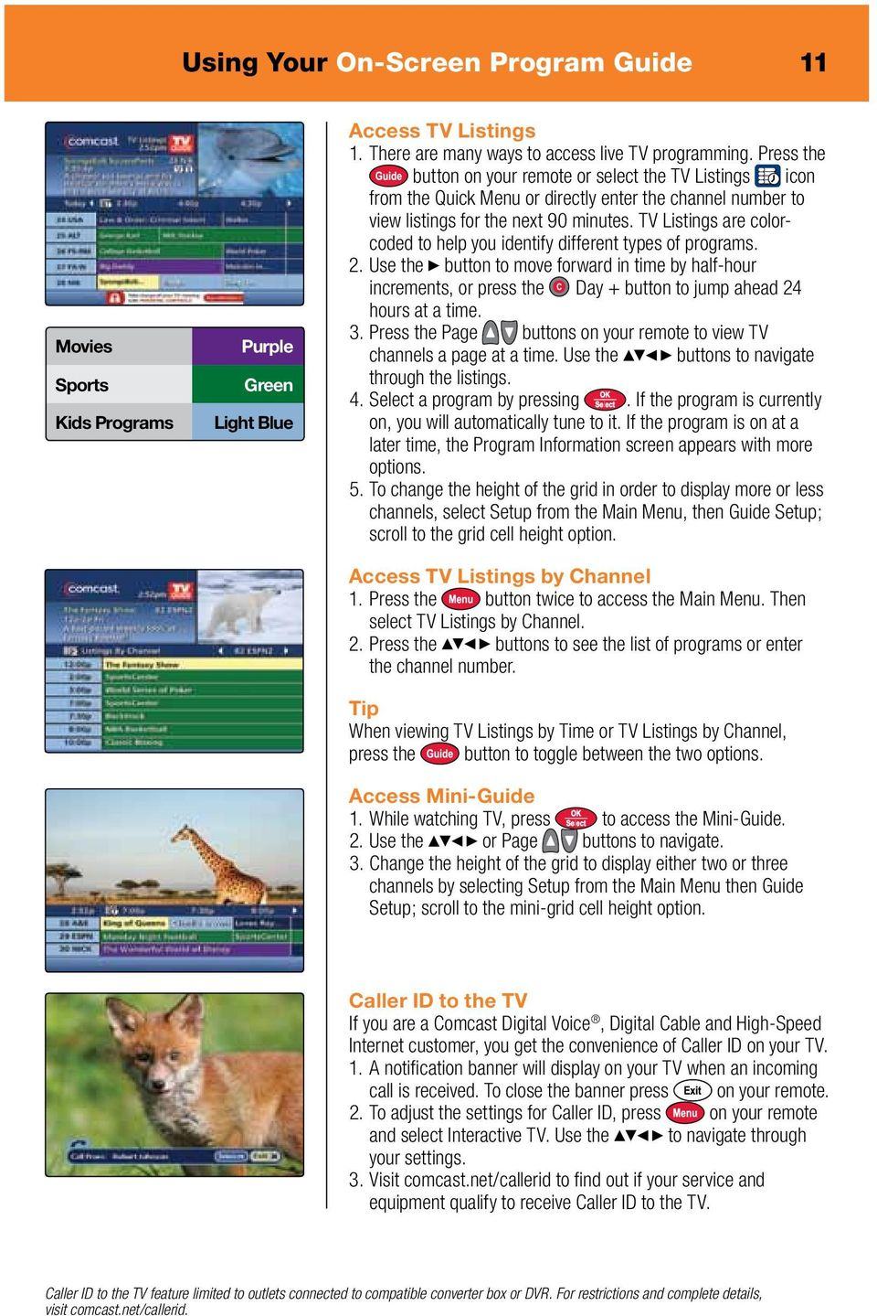 Comcast Digital Cable. It s like TV, but better. - PDF on