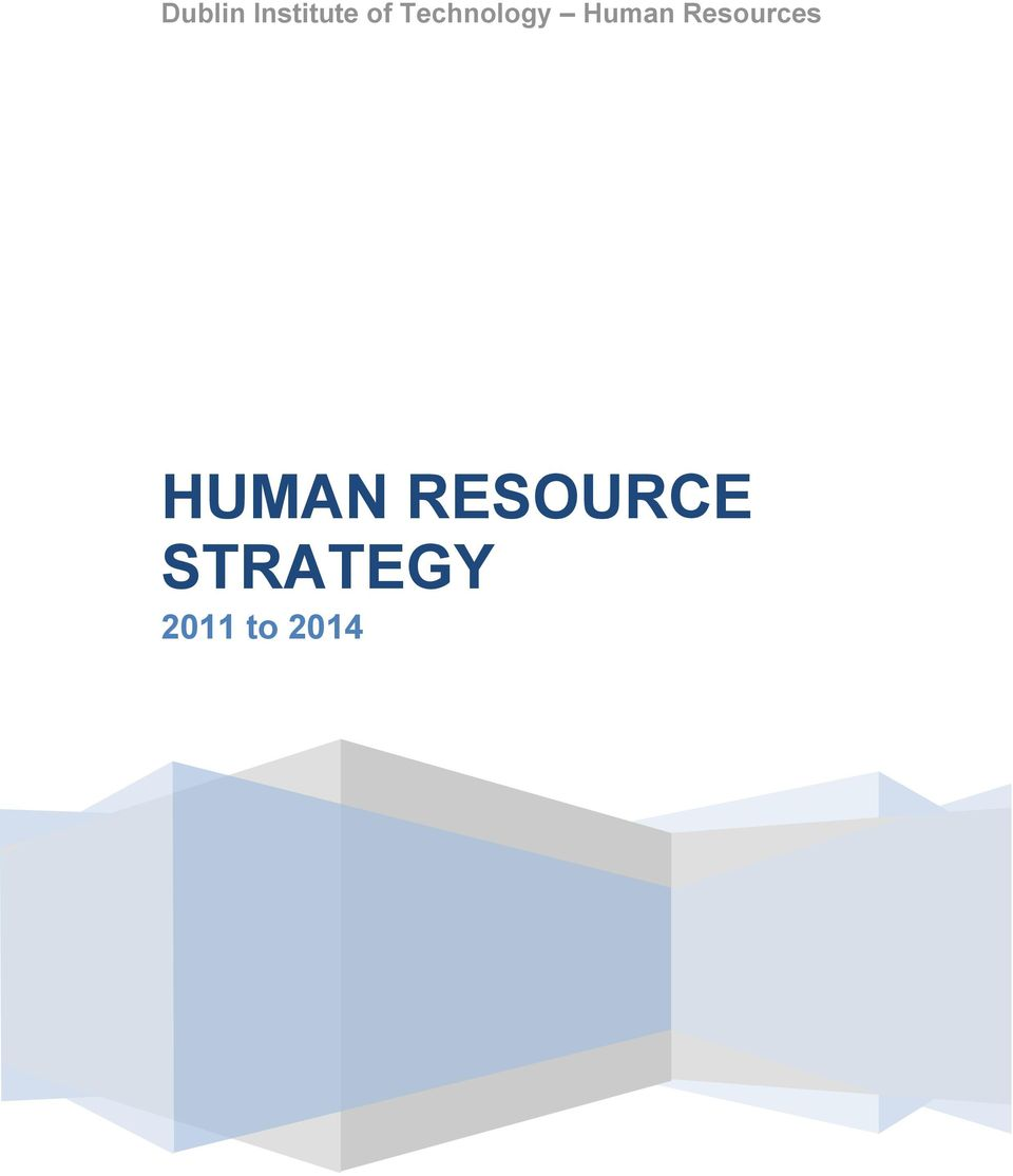 Resources HUMAN