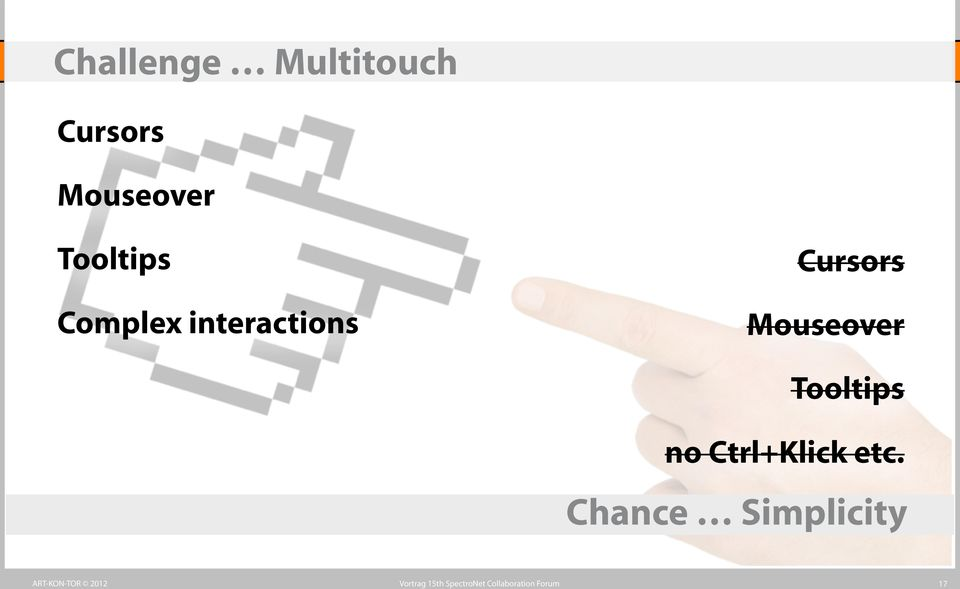 interactions Cursors Mouseover