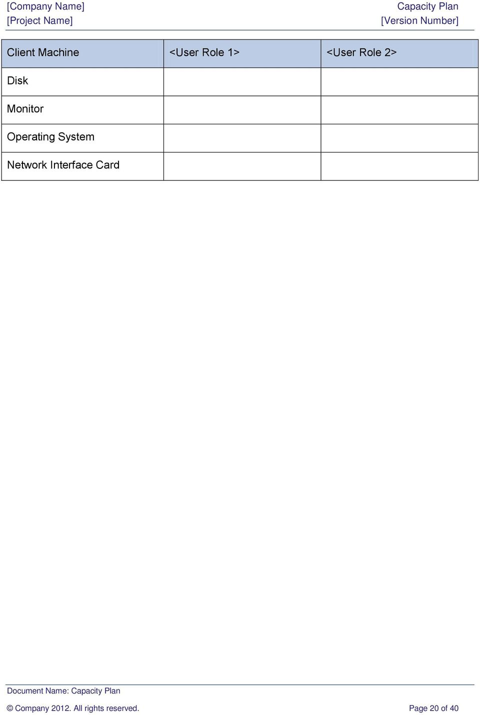 Network Interface Card Document Name: