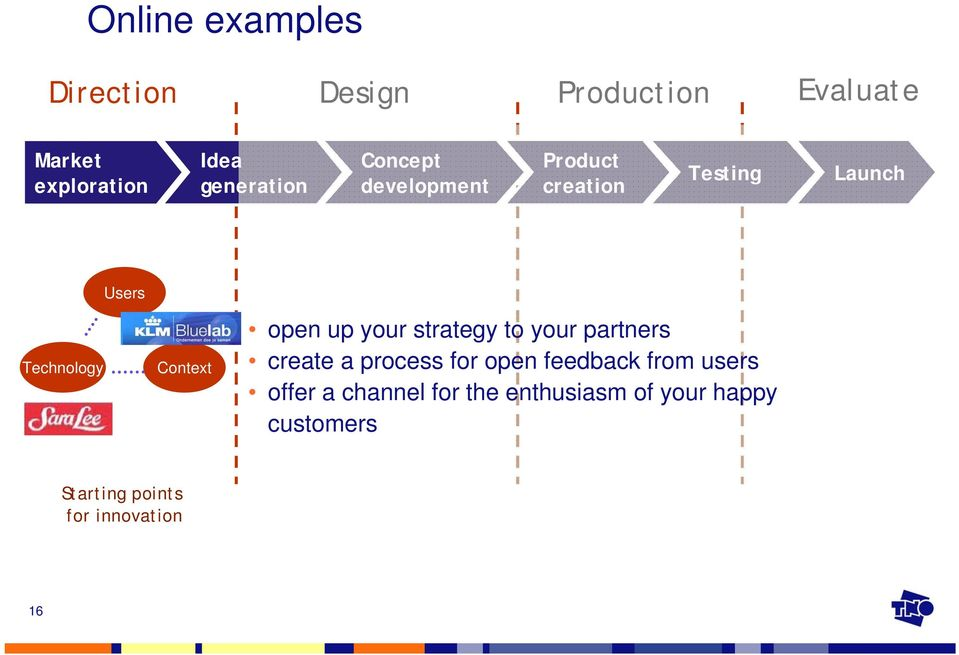 Context open up your strategy to your partners create a process for open feedback