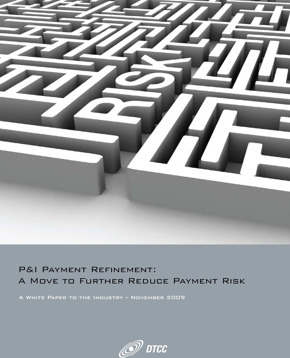 Payment Risk A White Paper