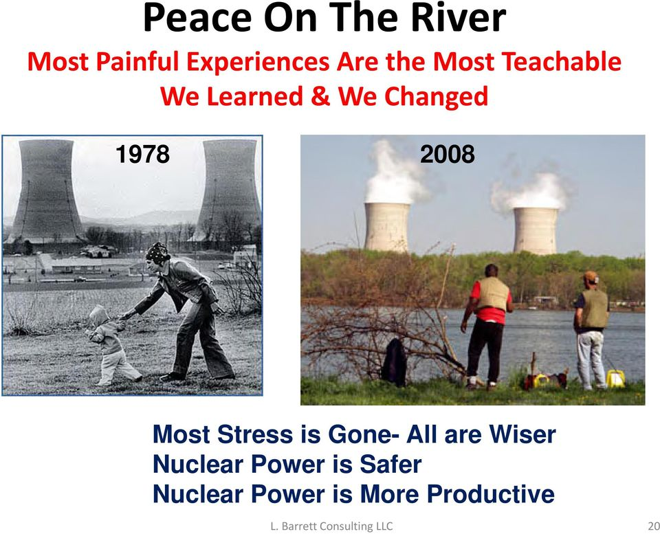 2008 Most Stress is Gone- All are Wiser Nuclear