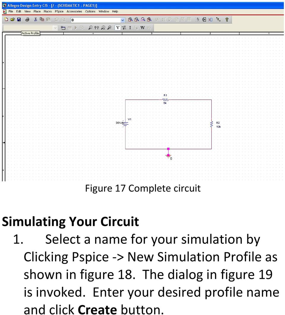 Simulation Profile as shown in figure 18.