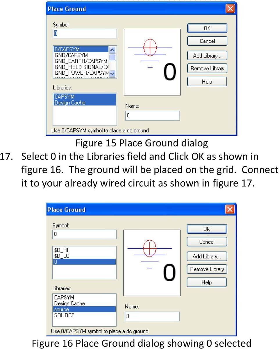 16. The ground will be placed on the grid.