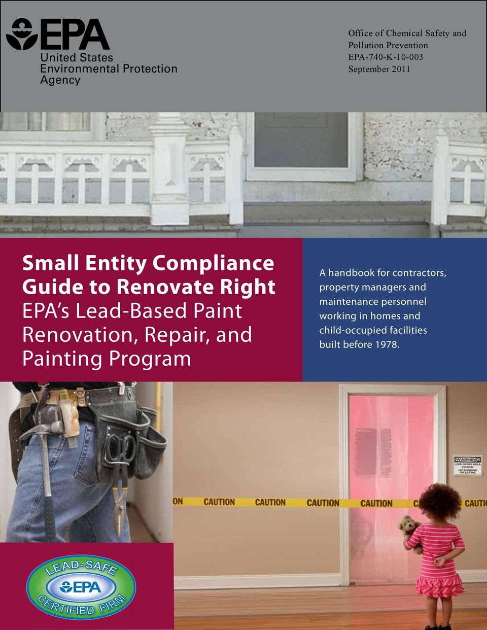 Painting Program A handbook for contractors, property managers and maintenance personnel
