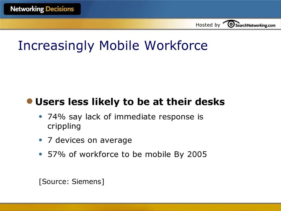 response is crippling 7 devices on average 57%
