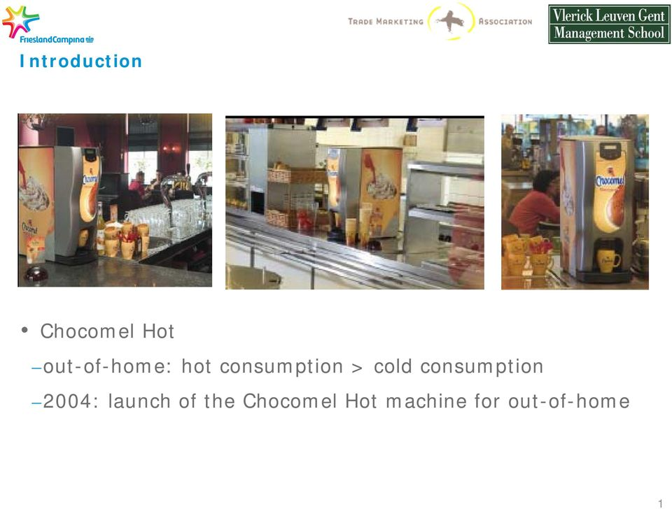 cold consumption 2004: launch of