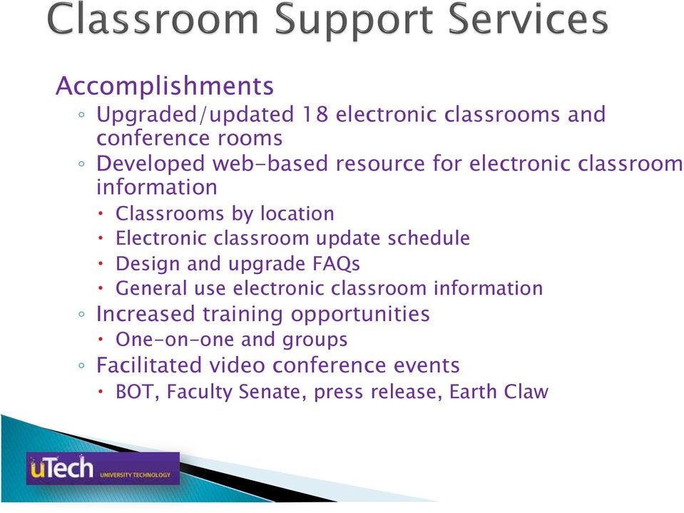 Electronic classroom update schedule! Design and upgrade FAQs!