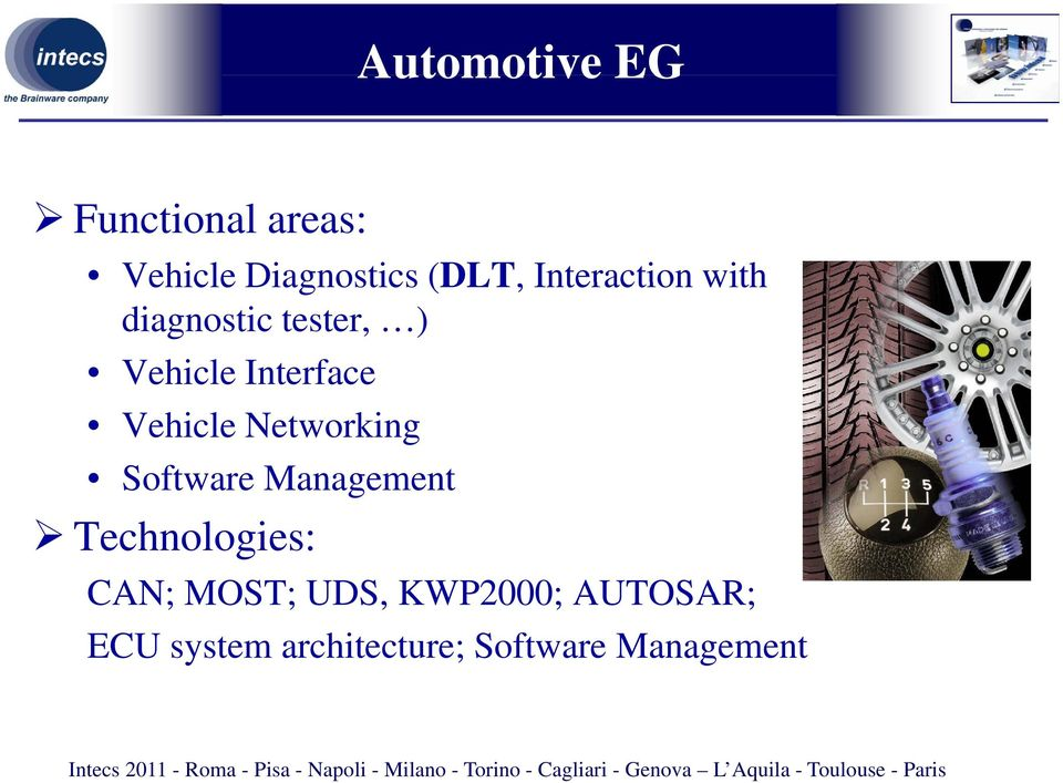 Vehicle Networking Software Management Technologies: CAN;