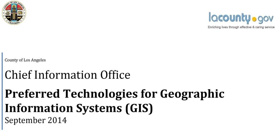 Technologies for Geographic