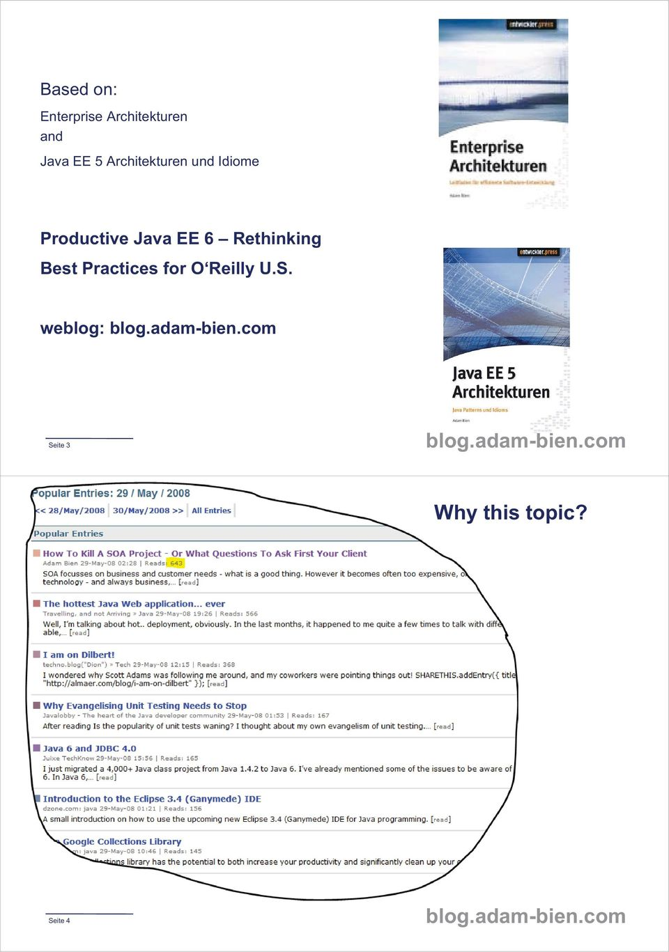 EE 6 Rethinking Best Practices for O Reilly