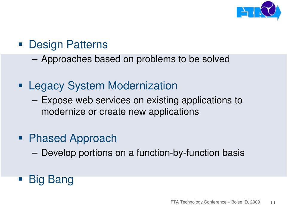 Expose web services on existing applications to modernize or create new