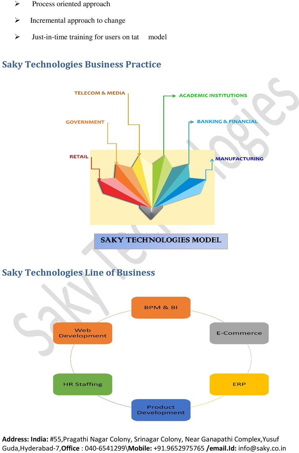 training for users on tat model Saky