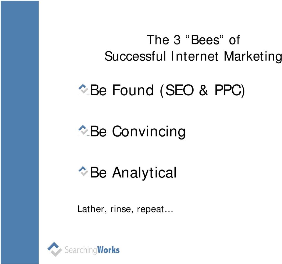 (SEO & PPC) Be Convincing Be