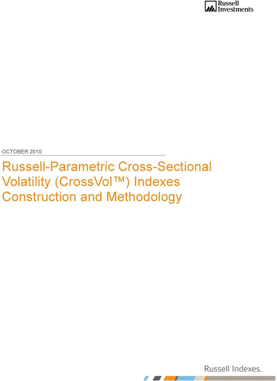 Cross-Sectional Volatility