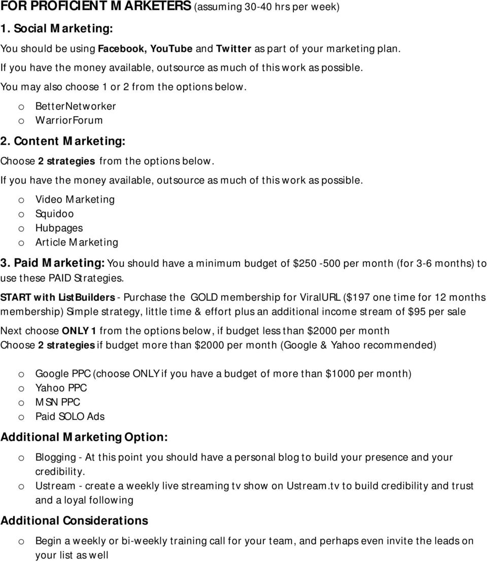 If yu have the mney available, utsurce as much f this wrk as pssible. Vide Marketing Squid Hubpages Article Marketing 3.
