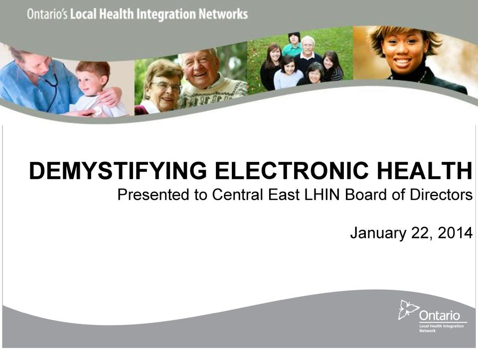 Central East LHIN Board