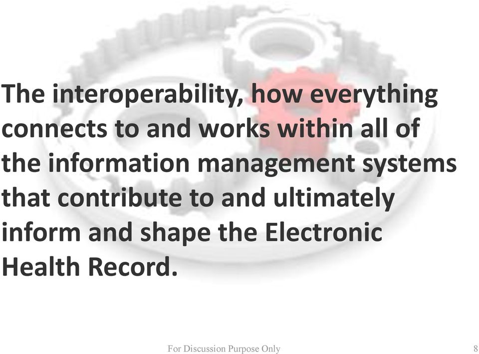 management systems that contribute to and
