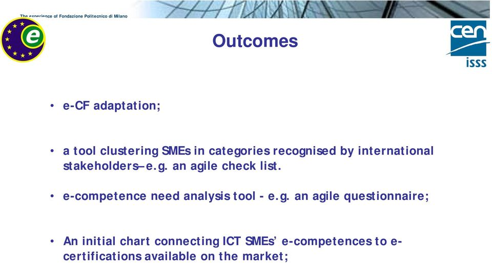 e-competence need analysis tool - e.g.