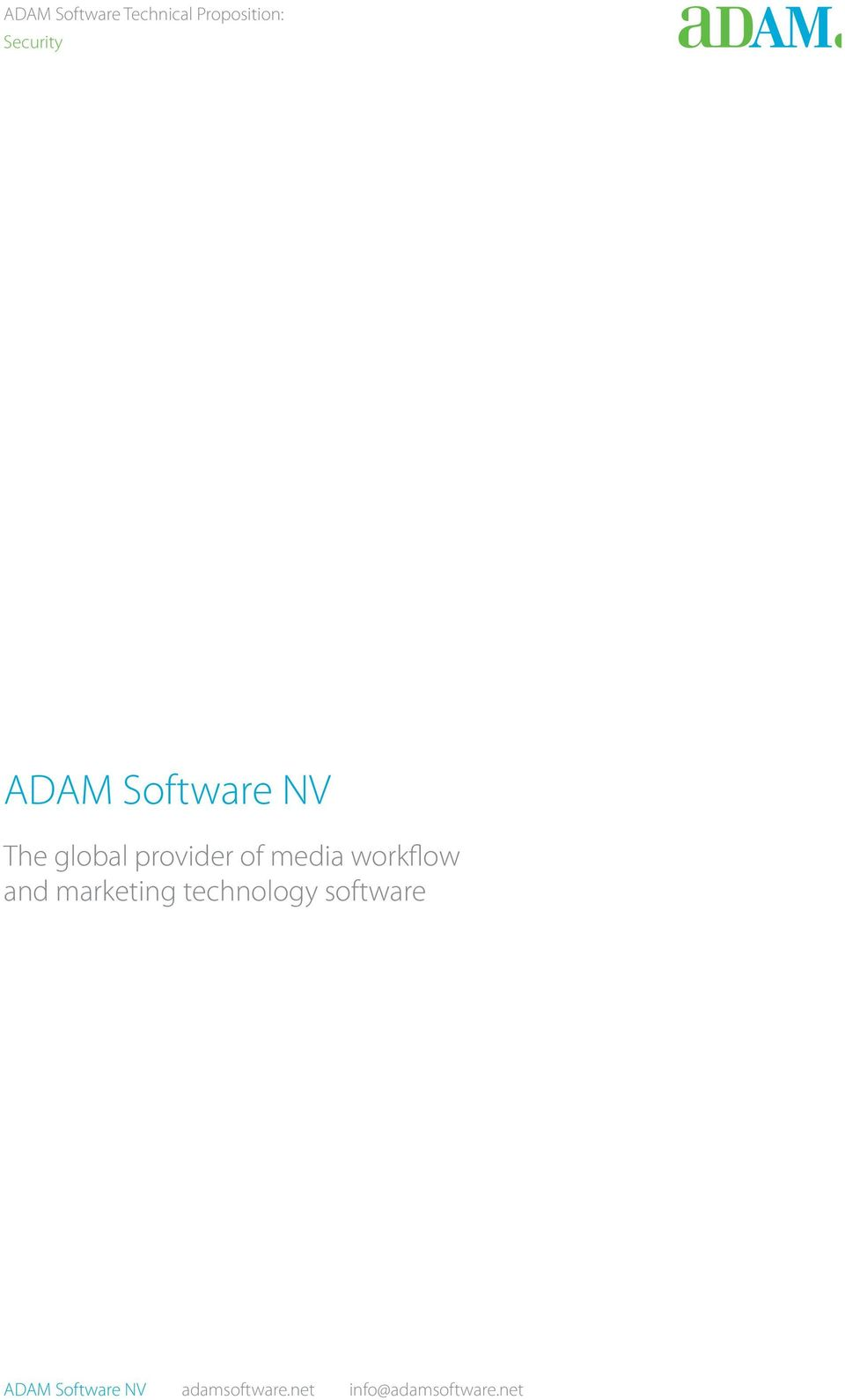 marketing technology software ADAM