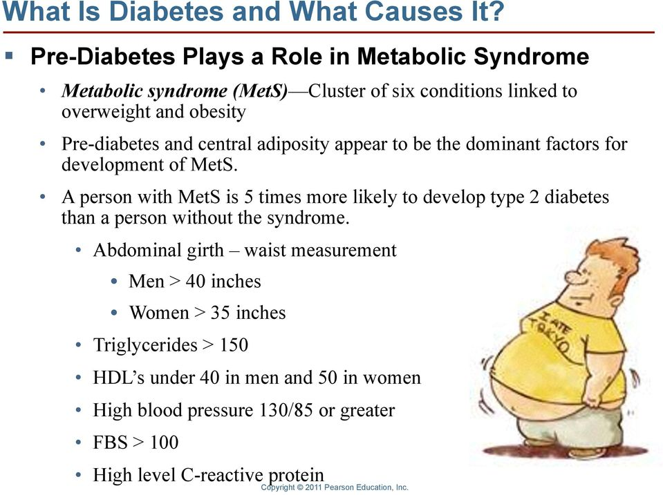 Pre-diabetes and central adiposity appear to be the dominant factors for development of MetS.