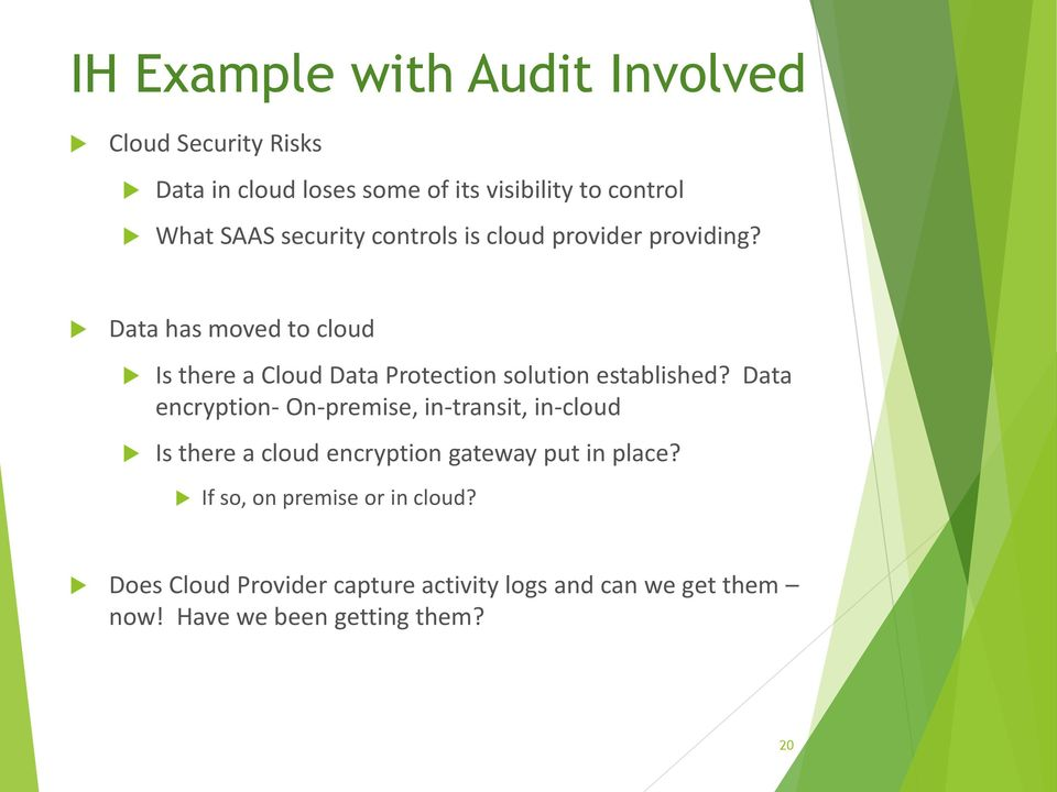 Data has moved to cloud Is there a Cloud Data Protection solution established?