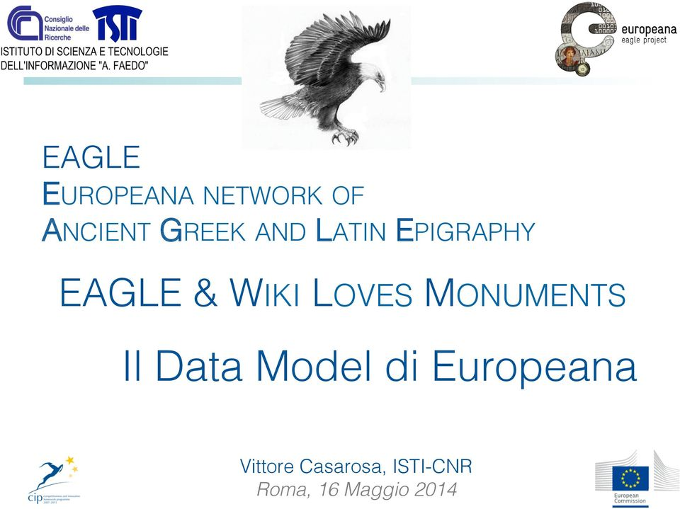 EAGLE & WIKI LOVES MONUMENTS!