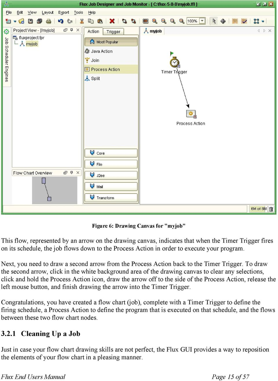Flux Standalone Software Application Pdf Process Flow Diagram Engine Schematic To Draw The Second Arrow Click In White Background Area Of Drawing Canvas