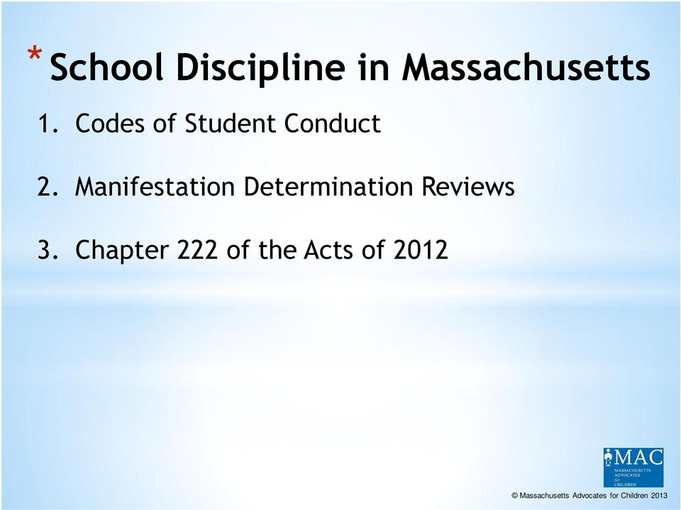 Codes of Student Conduct 2.