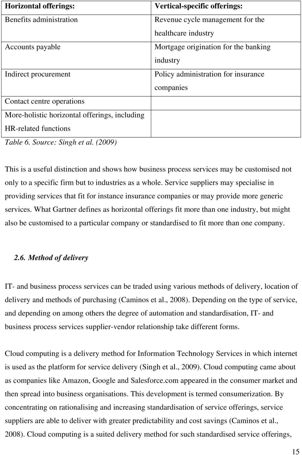 (2009) Vertical-specific offerings: Revenue cycle management for the healthcare industry Mortgage origination for the banking industry Policy administration for insurance companies This is a useful