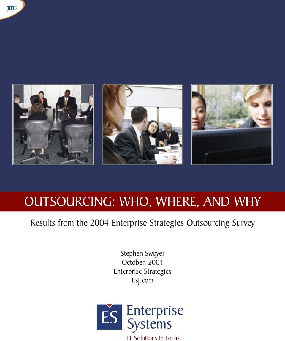 Strategies Outsourcing Survey Stephen