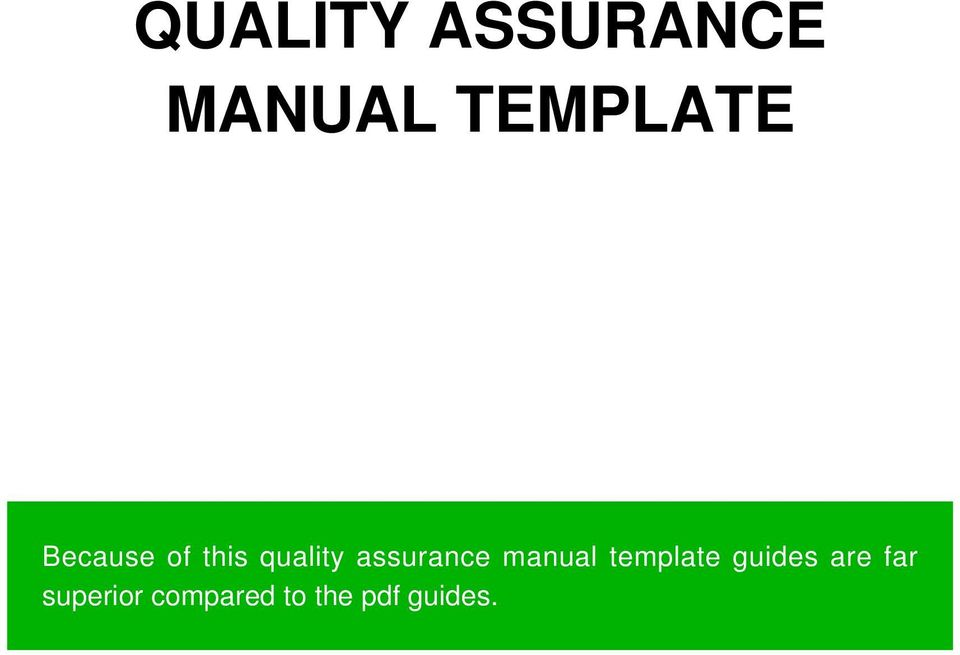 manual template guides are far