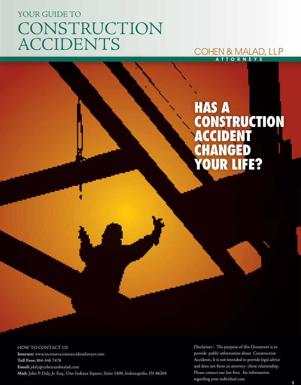 Construction Accidents.