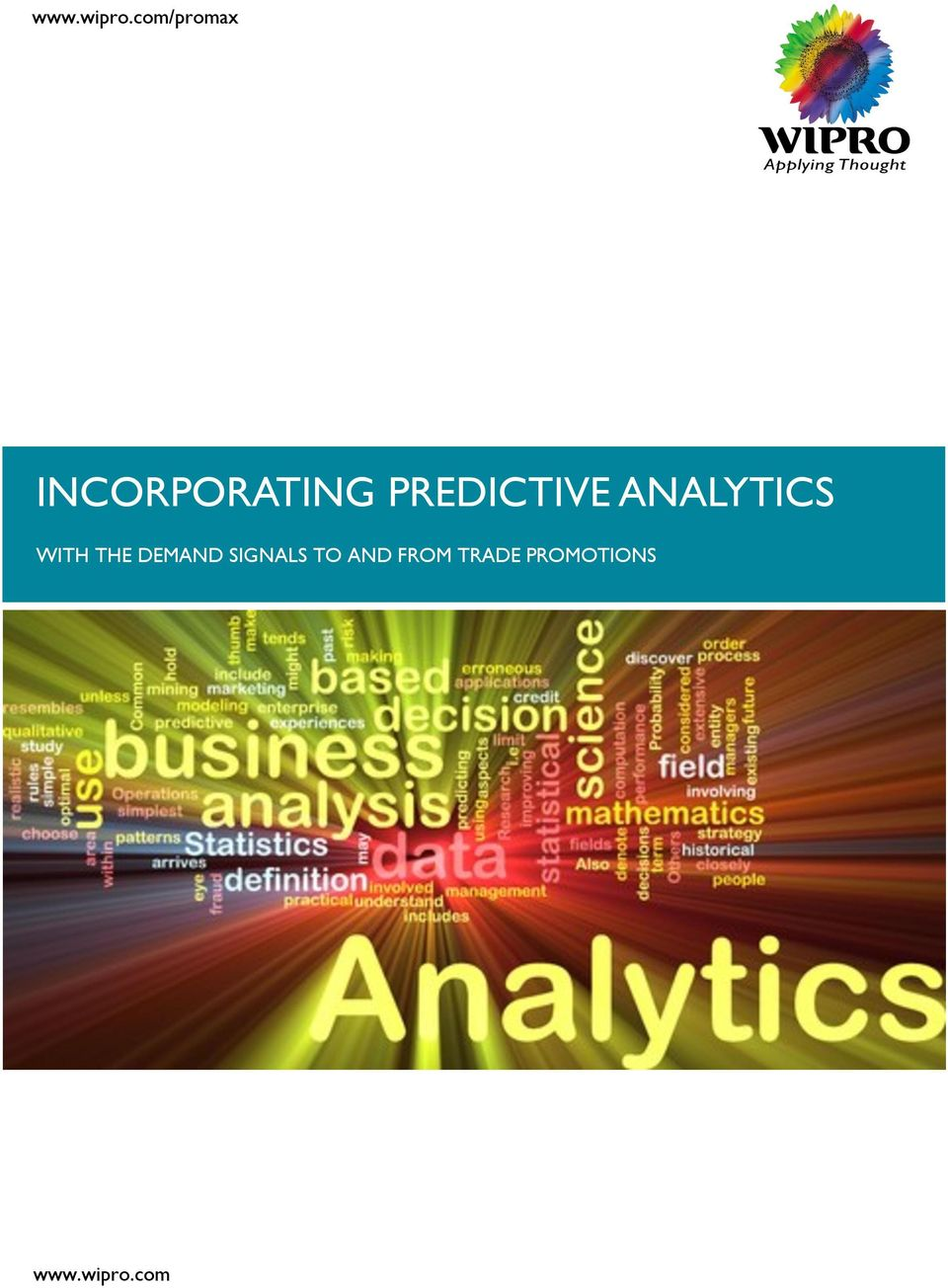 PREDICTIVE ANALYTICS WITH THE