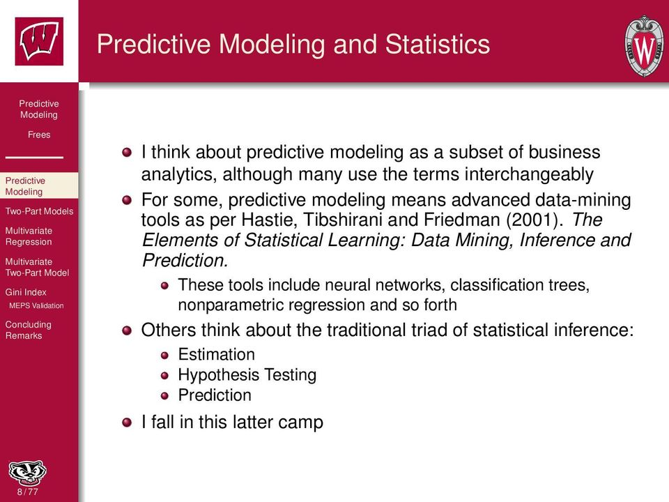 The Elements of Statistical Learning: Data Mining, Inference and Prediction.