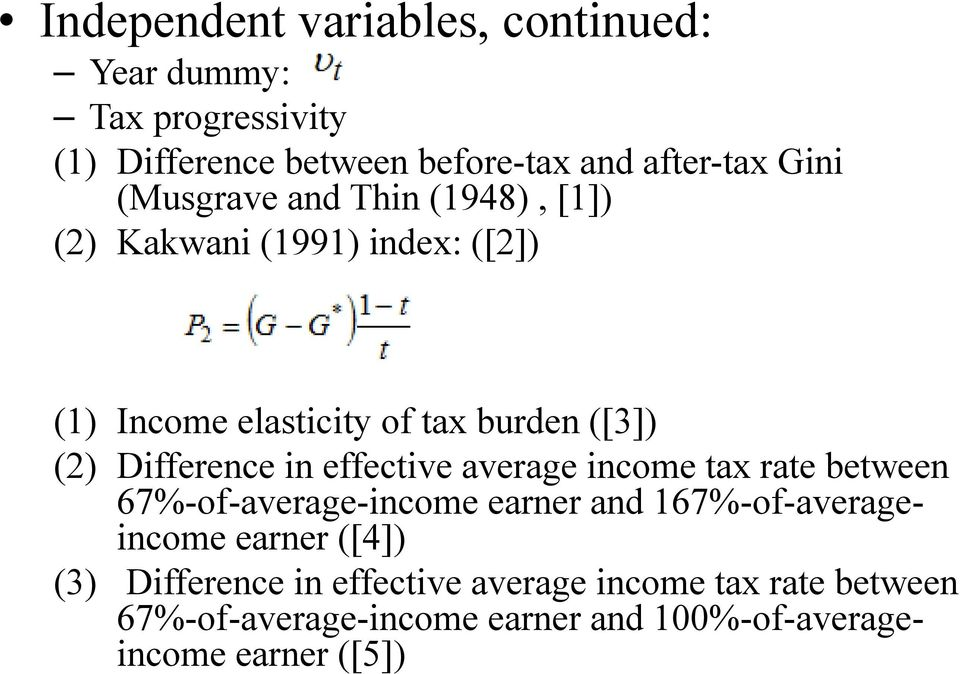 Difference in effective average income tax rate between 67%-of-average-income earner and 167%-of-averageincome earner