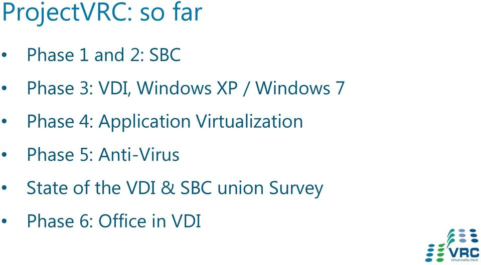 Application Virtualization Phase 5: Anti-Virus
