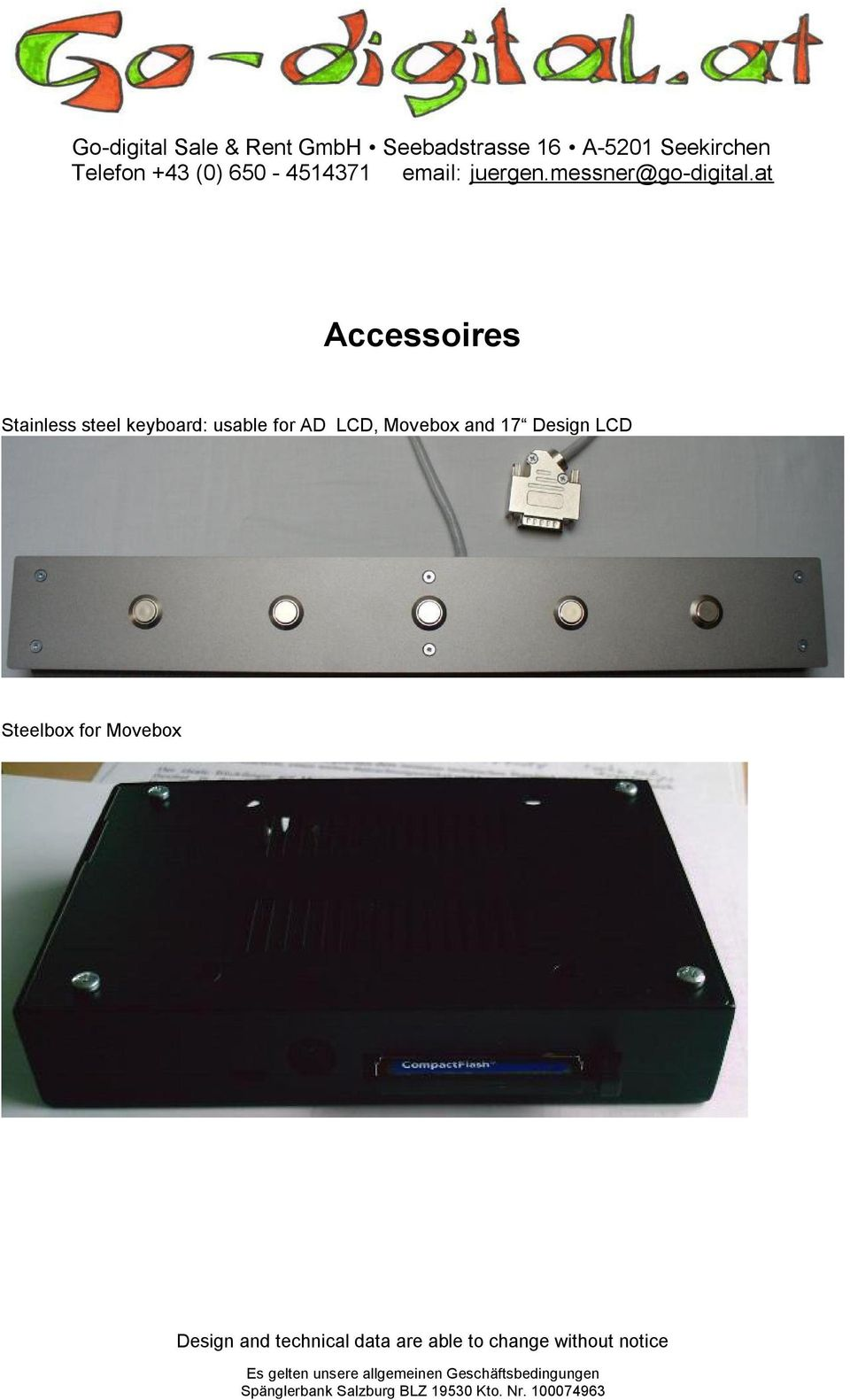 for AD LCD, Movebox and