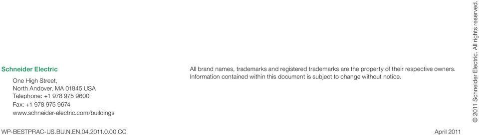 com/buildings All brand names, trademarks and registered trademarks are the property of their respective