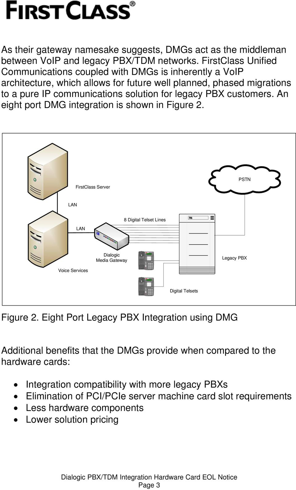 middleman between VoIP and legacy PBX/TDM networks.