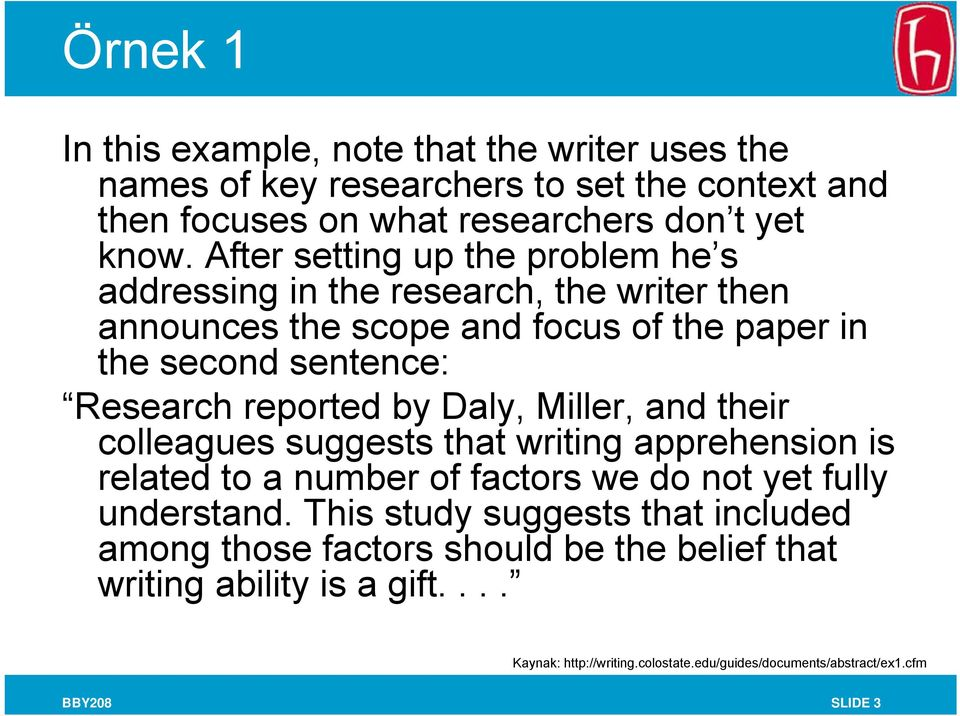 by Daly, Miller, and their colleagues suggests that writing apprehension is related to a number of factors we do not yet fully understand.