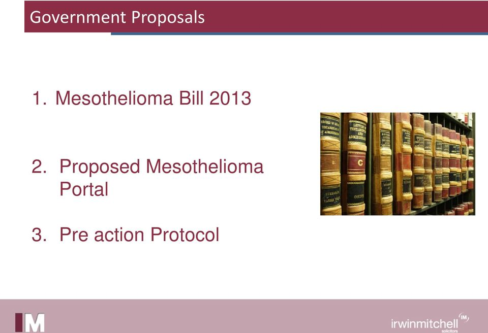 Proposed Mesothelioma
