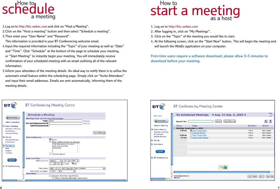 Input the required information including the Topic of your meeting as well as Date and Time.