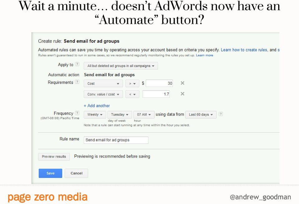 AdWords now