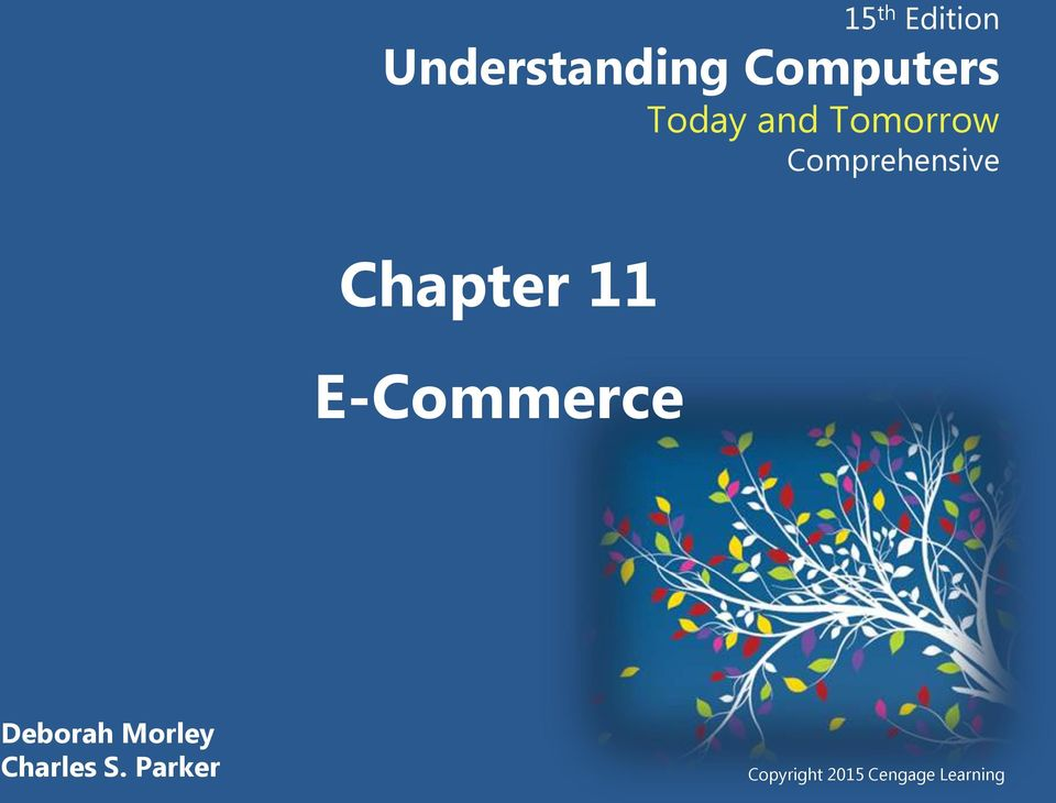 Chapter 11 E-Commerce Deborah Morley