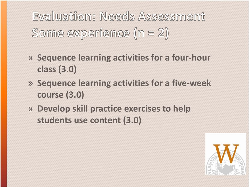 0)» Sequence learning activities iii for a five